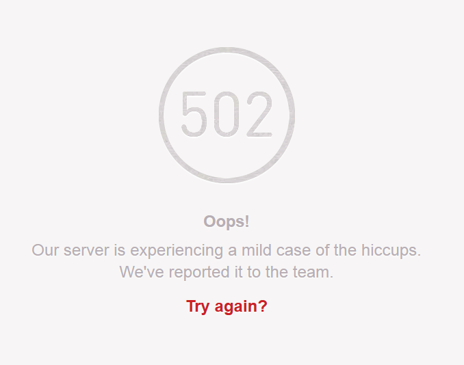 Pinterest failing miserably on the backend